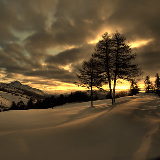 Sunset@Sestriere
