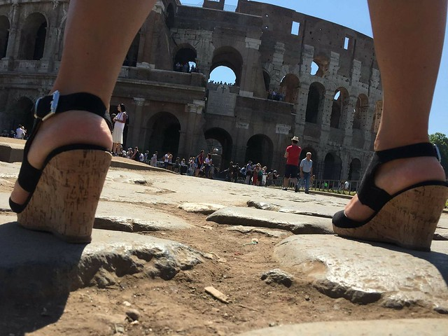 ROMA ARCHEOLOGIA e RESTAURO ARCHITETTURA: Mezzogiorno di fuoco! Il Colosseo - Il buono, il brutto, il cattivo... Foto | Fonte: Guida Turistica - Paola Di Silvio | FACEBOOK (29/06/2017).