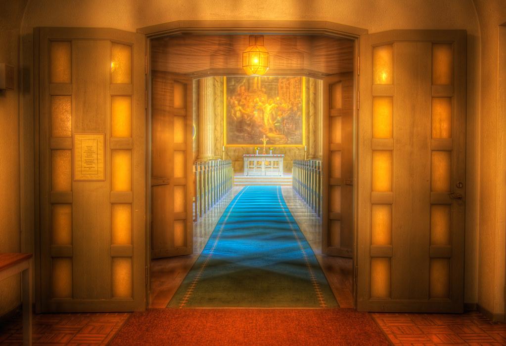 A Golden Entrance