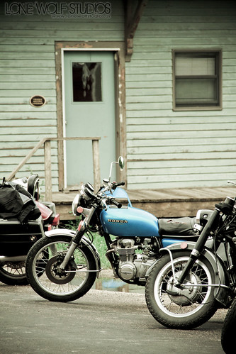 Honda CB by Chad Berger Photography