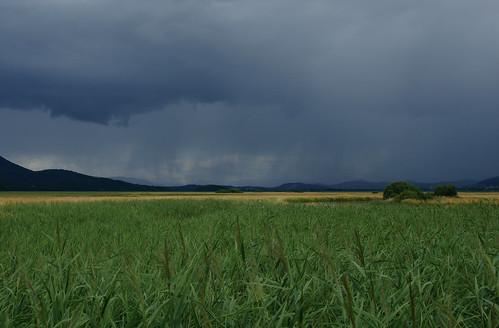 summer storm landscape geotagged slovenia slovenija poletje nevihta cerknicalake cerkniškojezero intermittentlake presihajočejezero