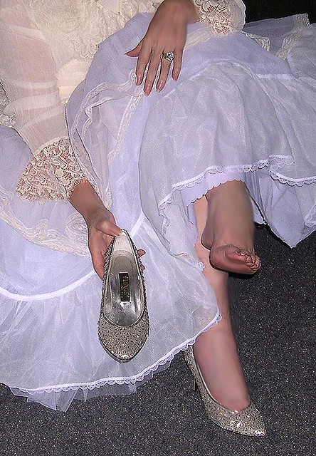 Me, Feet, Toes, Bare, Foot, Shoes, White Lingerie -2595