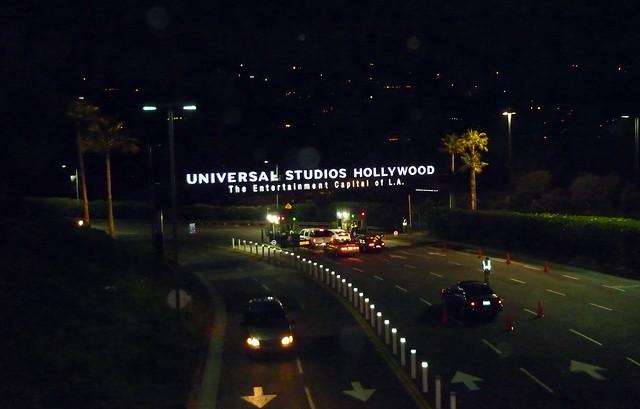 La entrada a Universal