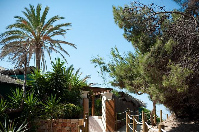 Malibu Beach Club, Ibiza beach restaurant