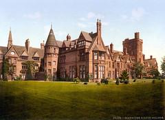 Girton College, Cambridge, England, ca. 1895