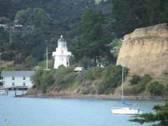 Akaroa Lighthouse, Banks Peninsula, Canterbury, New Zealand