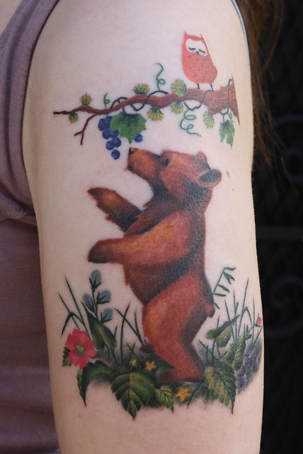 Bear cub flickr photo sharing for Bear cub tattoo