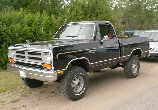 1986 Dodge W100 4x4 Flickr Photo Sharing
