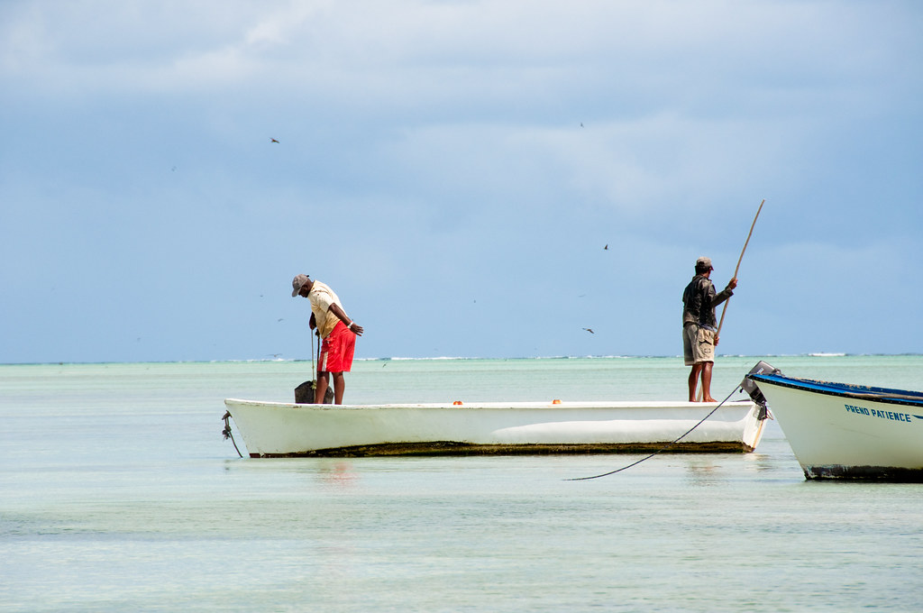 Fishermen in Rodrigues