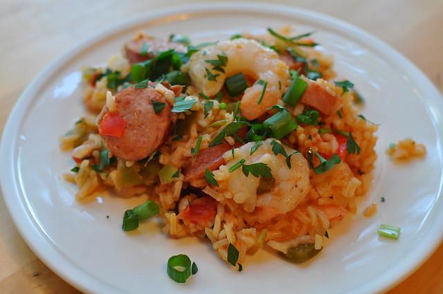 shrimp and sausage jambalaya | Flickr - Photo Sharing!