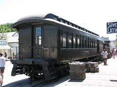 Denver & Rio Grande Pullman #550 48-foot wood combination baggage-coach 1890 1