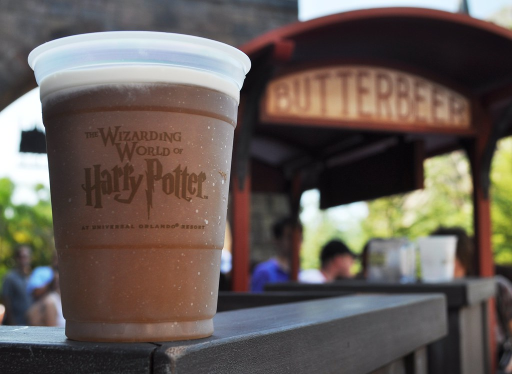 Image result for butter beer harry potter