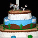 Donkey Birthday Cake