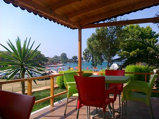 Albania - 166a - Ksamil hotel