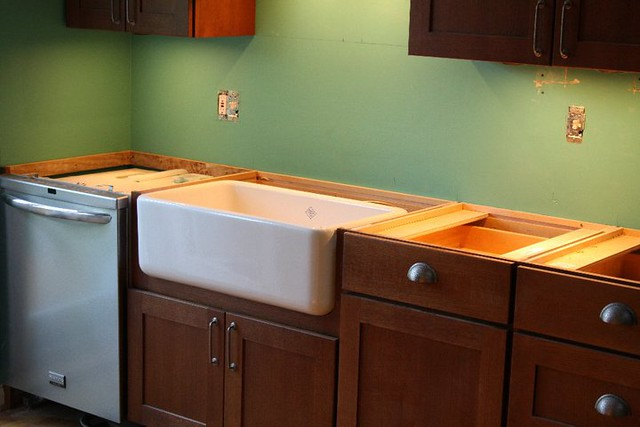 Rohl Farmhouse Sink hardware install
