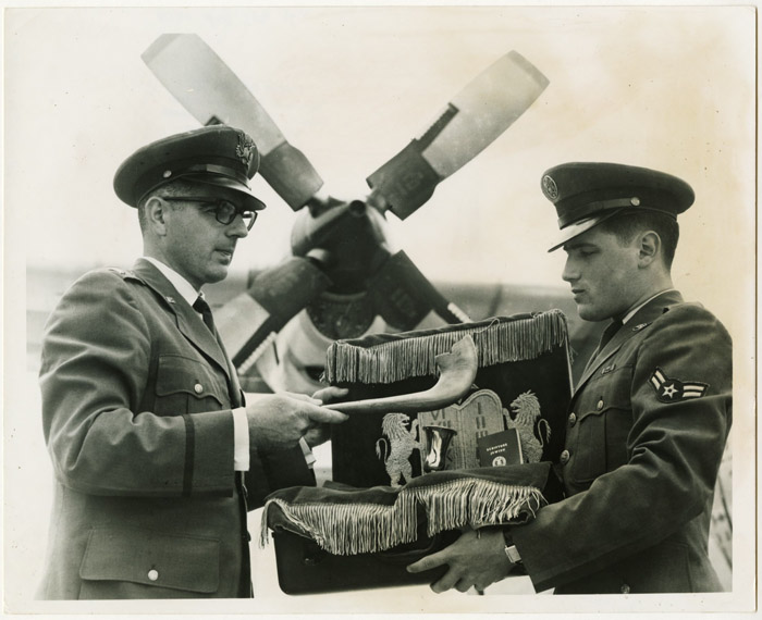 Chaplain Nathan Landman, Air Force Jewish Chaplain for France, Spain, and Libya