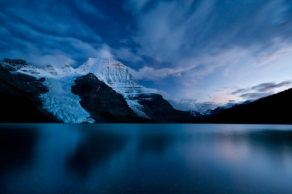 Berg Lake Twilight