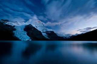 Berg Lake Twilight