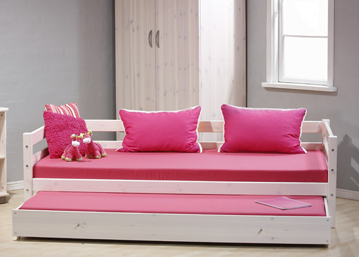 White Trundle Bed With Storage Uk