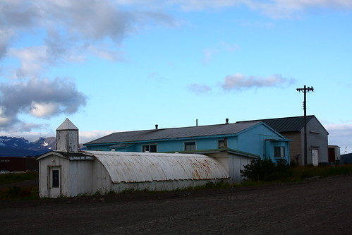 old church in Cold Bay, AK