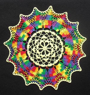 Hot-Air Balloons Doily