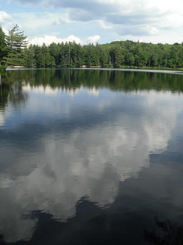 lake newyork waterfall pond dam upstate adirondacks rapids belfort 071210 belfortpond