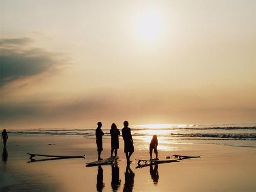 old houses sunset sun fish bird beach set sunrise vintage pier nc sand couple surf joshua surfer seagull dunes tide north carolina rise gragg