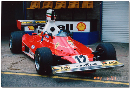 1975 Ferrari 312T F1. 3.0 Litre F1 25 Year Celebration Donington Park 1991