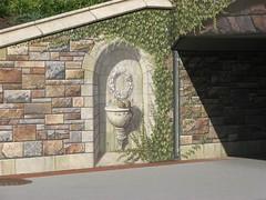 Community Bridge Mural at Carroll Creek