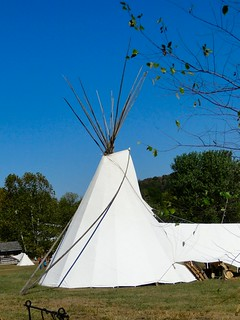 Tipi at Lore of the Laughery