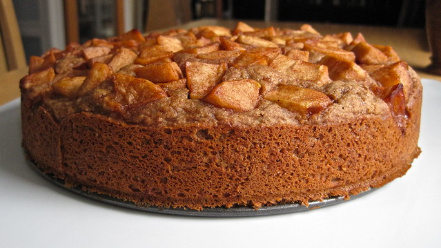 Apple Graham Coffee Cake