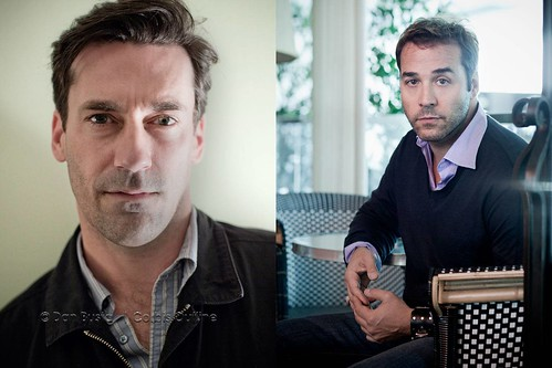 Jon Hamm and Jeremy Piven | 2010 and 2009