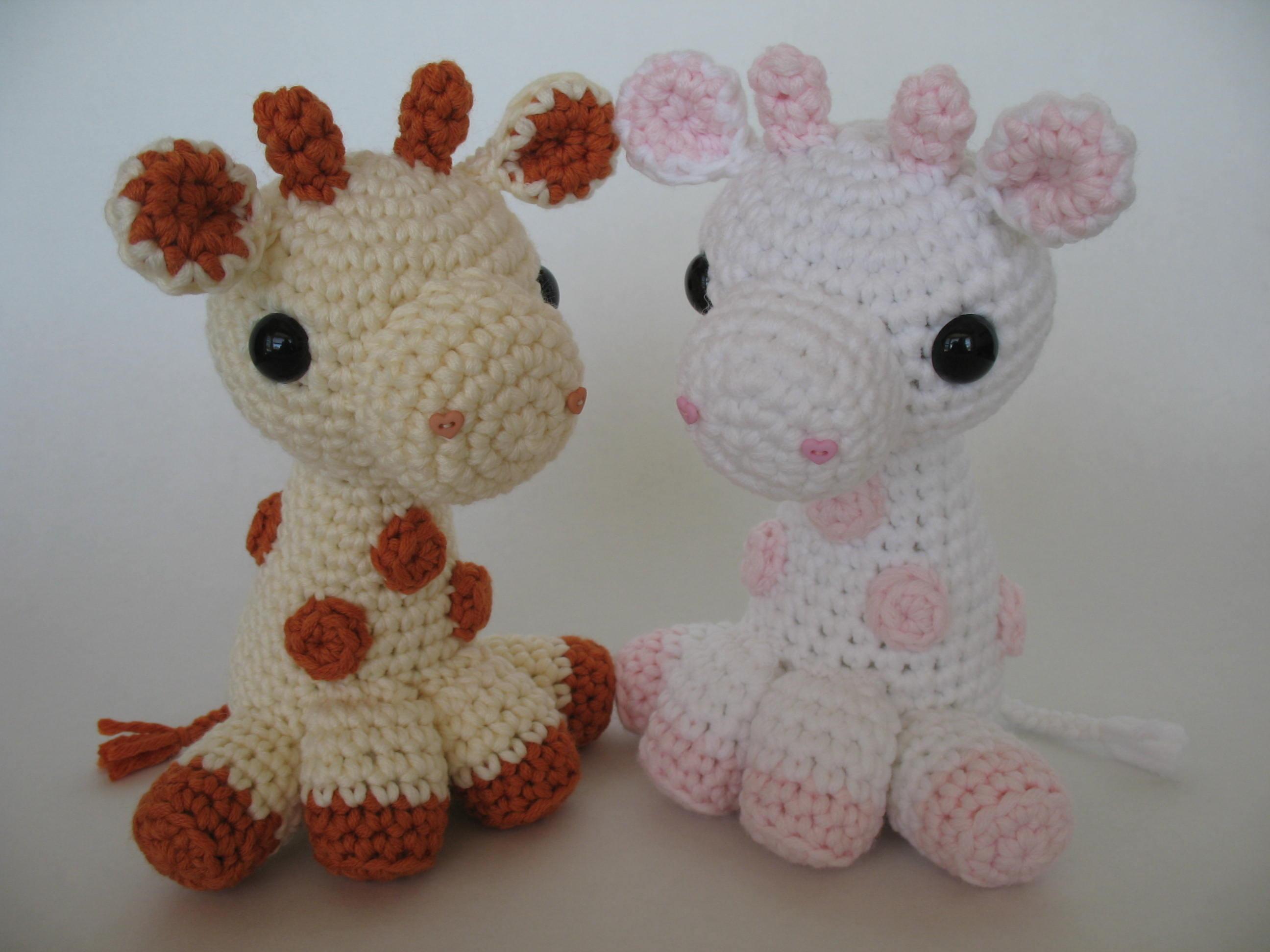 Amigurumi Hello Kitty Abeja : Amigurumi Baby Giraffes Flickr - Photo Sharing!