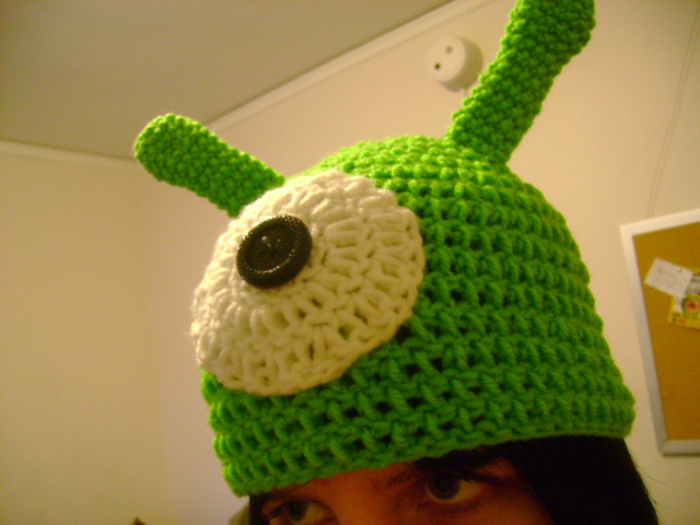 Brain Slug Pattern Futurama Brain Slug Hat