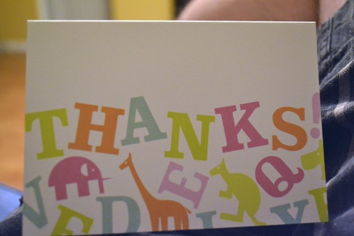 How do you like to be thanked by organizations?