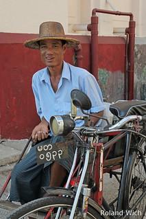 Yangon - Trishaw Driver