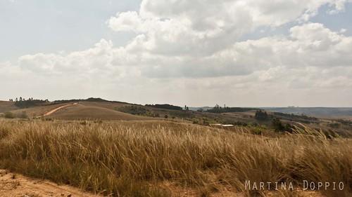 africa road panorama tanzania iringa matembwe