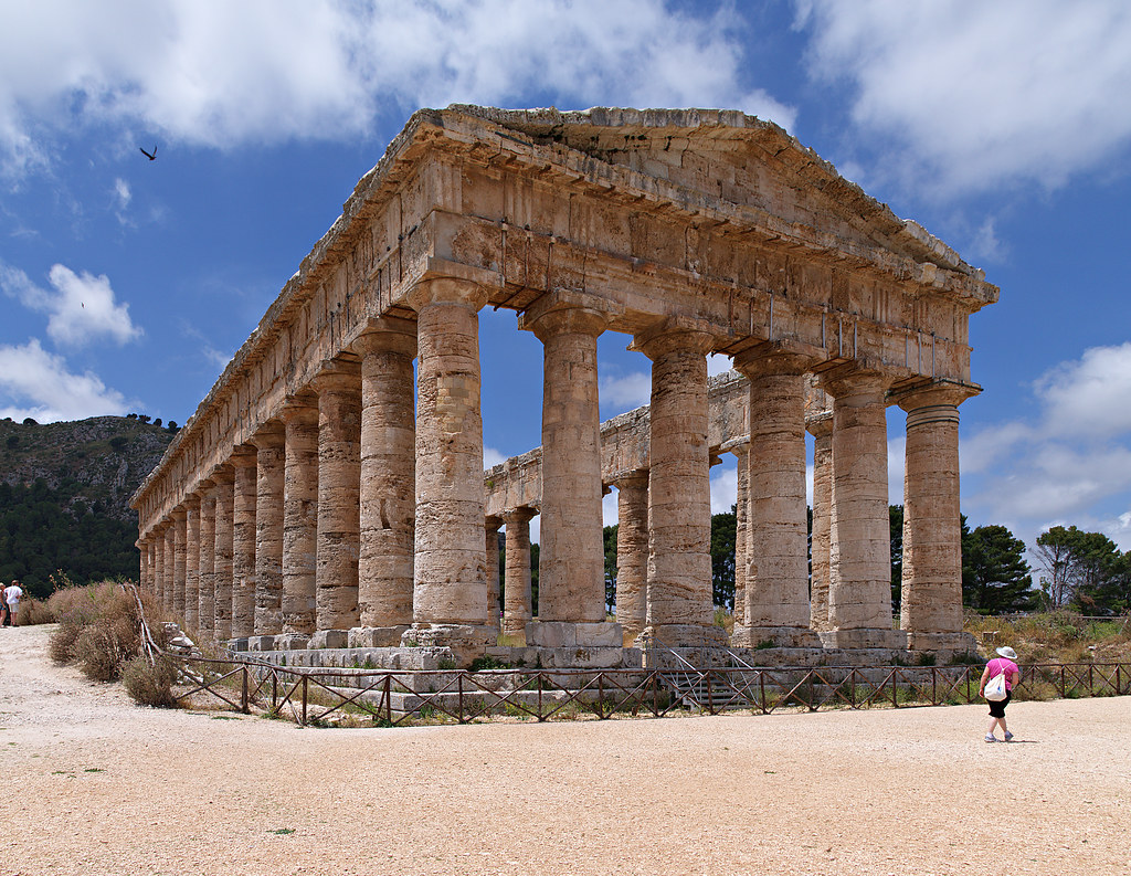 Temple at Segesta, Sicily