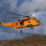 Royal Air Force Search and Rescue Helicopter