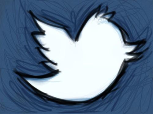 Twitter Bird Sketch