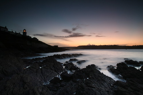 Roches Point Lighthouse, sunset