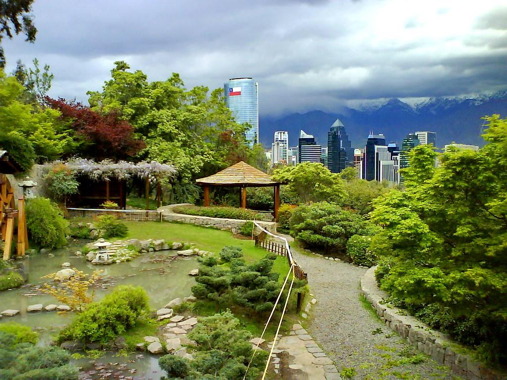 Santiago de chile im genes taringa for Jardin japones de santiago