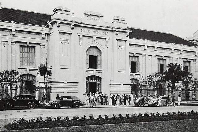 31 Hanoï. Ecole de Médecine 1945-1954