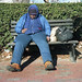 Homeless in Blue by Michael Horsley