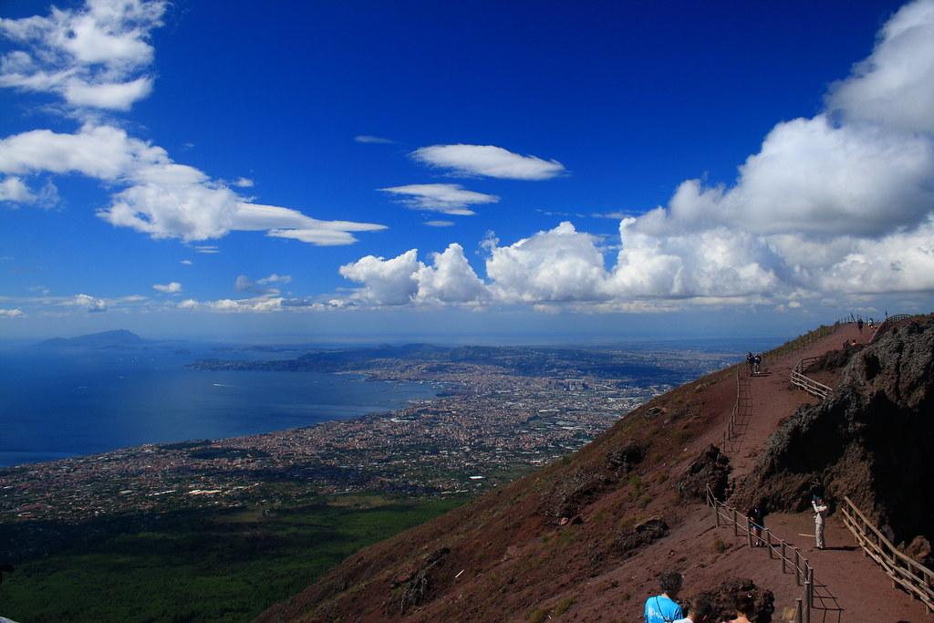 Vesuvius View from Summit