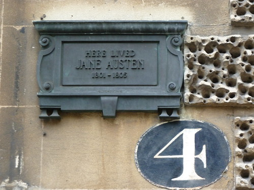 Jane Austen plaque