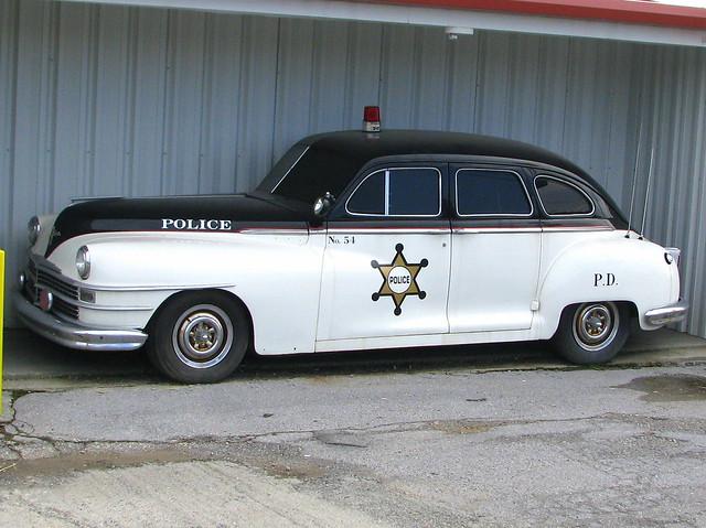 Old Police Car Shows