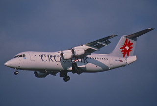 139at - Crossair Avro RJ 100; HB-IXM@ZRH;21.07.2001