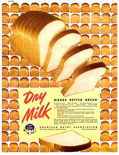 1946 ... dry milk bread!