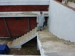 wall, wood, plaster, stairs, brick, brickwork,